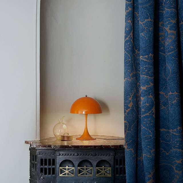 Panthella Mini Bordlampe, Oransje