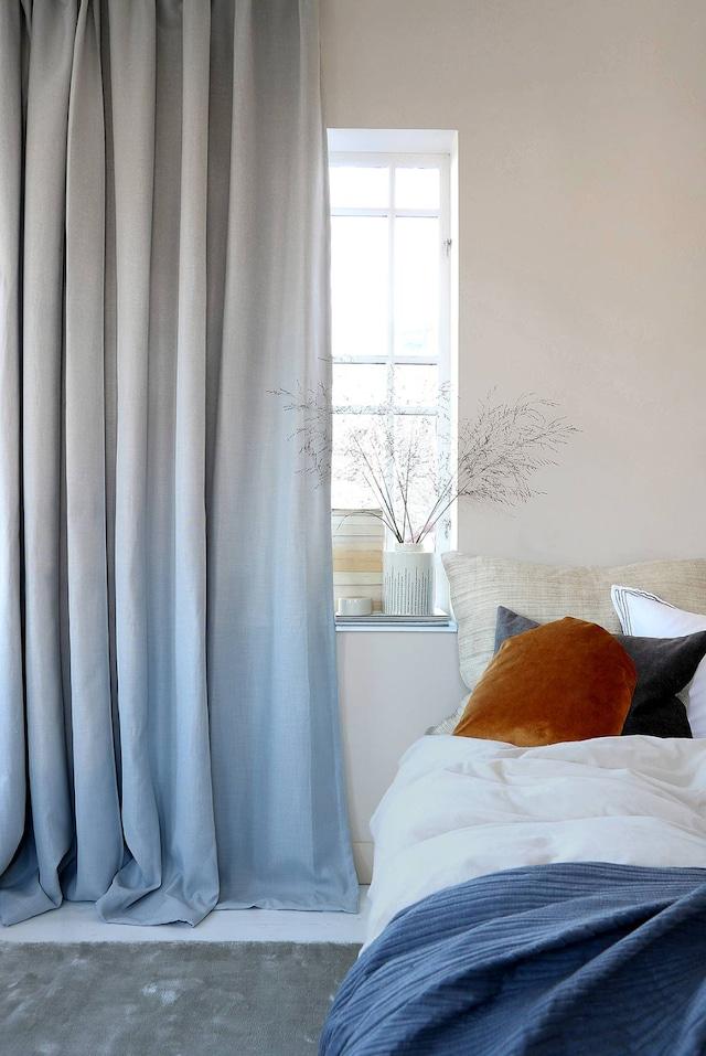 Luxury Hotelmørklegging Gardin 290x250 cm, Grå