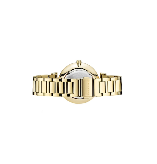 Modest 34 / IPG Linked Strap White Dial, Gold