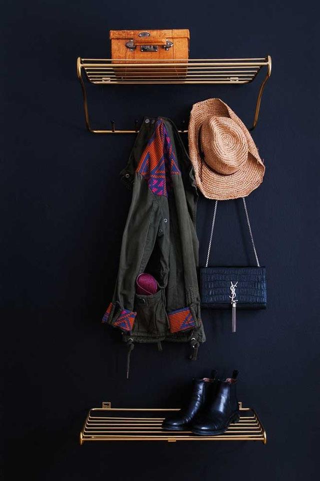 Hat Rack Hattehylle, Hvit