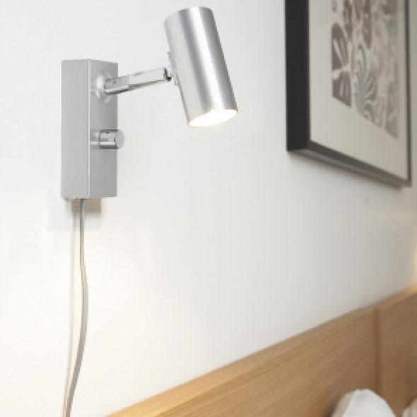 Cato Vegglampe LED, Matt Hvit