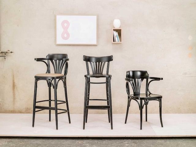 No 135 Barstol 76 cm, Coffee