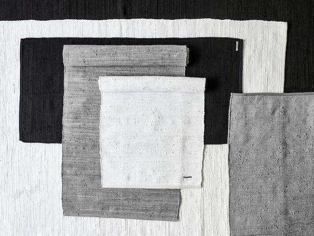 Cotton Gulvteppe 60x90, Sort