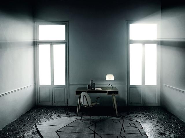 Lumiere 05 Glasskjerm S, Hvit