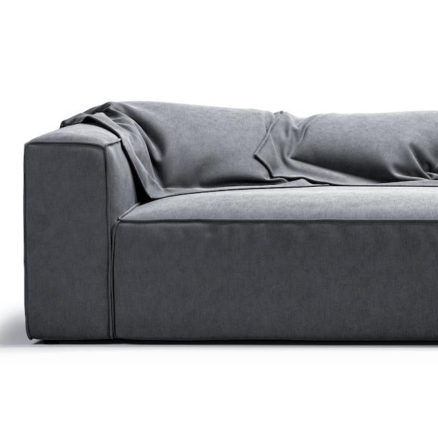 Grand 4-seters Sofa, Prado Grey 65