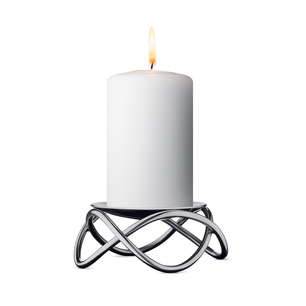 Stor Glow Lysestake - Georg Jensen @ RoyalDesign.no HP-27