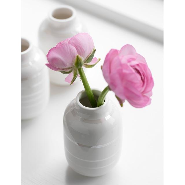 Omaggio Vase Miniatyr 3-pakk, Sølv