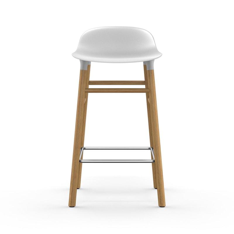 Form Barstol, Stål Normann Copenhagen @ RoyalDesign.no