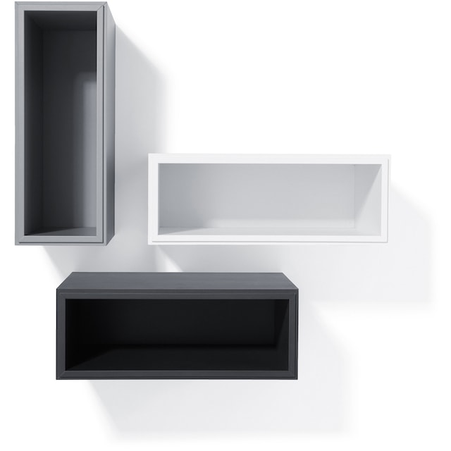 Edge Air Bedside Table, White
