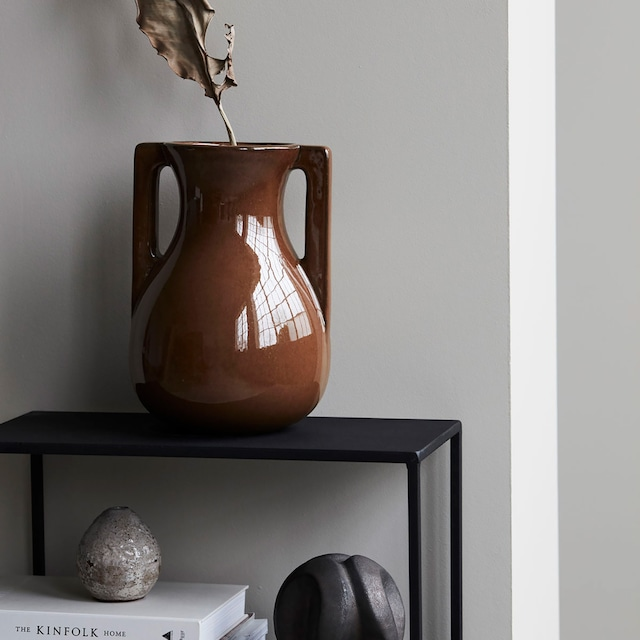 Mississipi Vase 25x31 cm,Brown