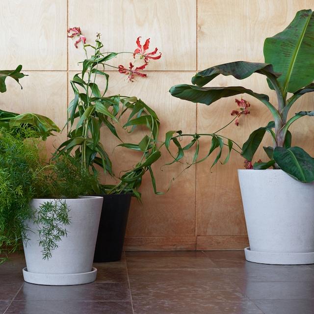 Flower Pot Kruka S, Grå