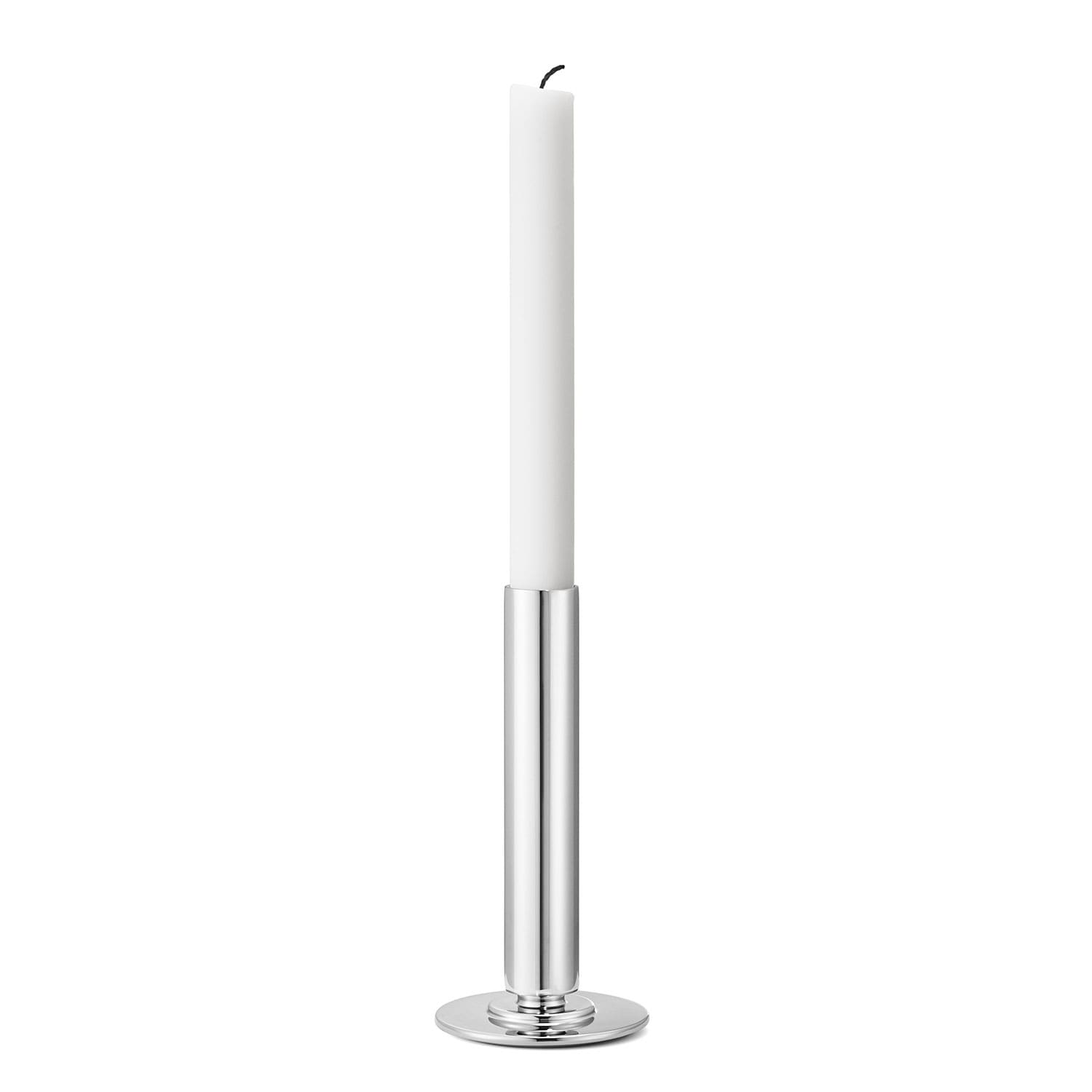 Nytt Manhattan Lysestake L, Rustfritt Stål - Georg Jensen @ RoyalDesign.no HZ-82