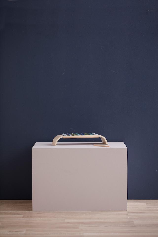Xylofon Plywood, Blå/Multi