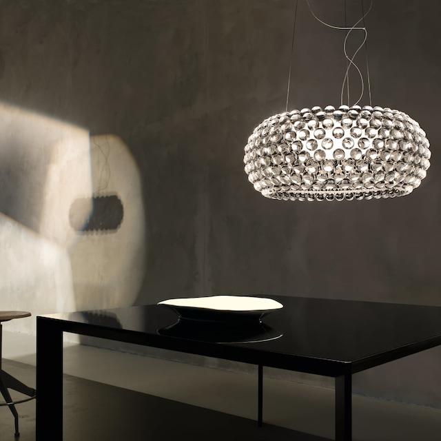 Caboche Media LED Pendel Dimbar, Transparent