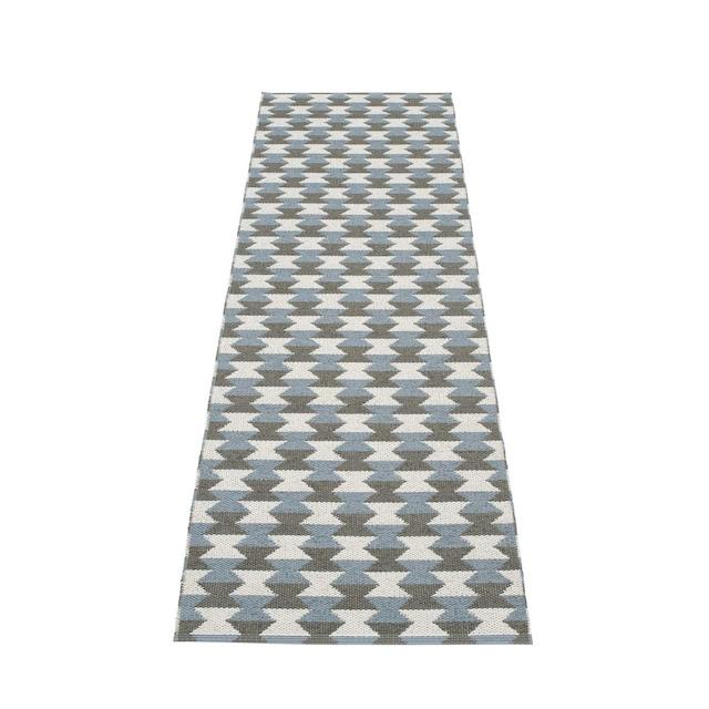 Dana Gulvteppe 70x250cm, Charcoal/Grey