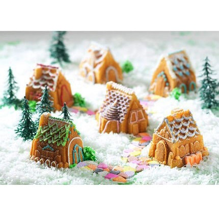 Nordic Ware Cozy Village Bakeform