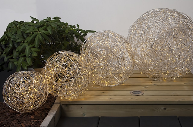 Tassel Utendørs Dekorasjon 30 cm, Sølv
