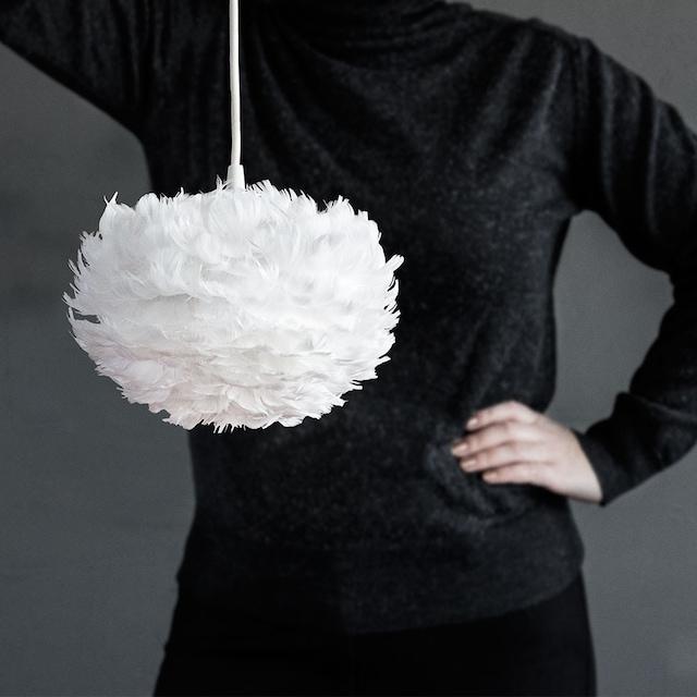 Eos Lampeskjerm Hvit, Micro, Ø22 cm