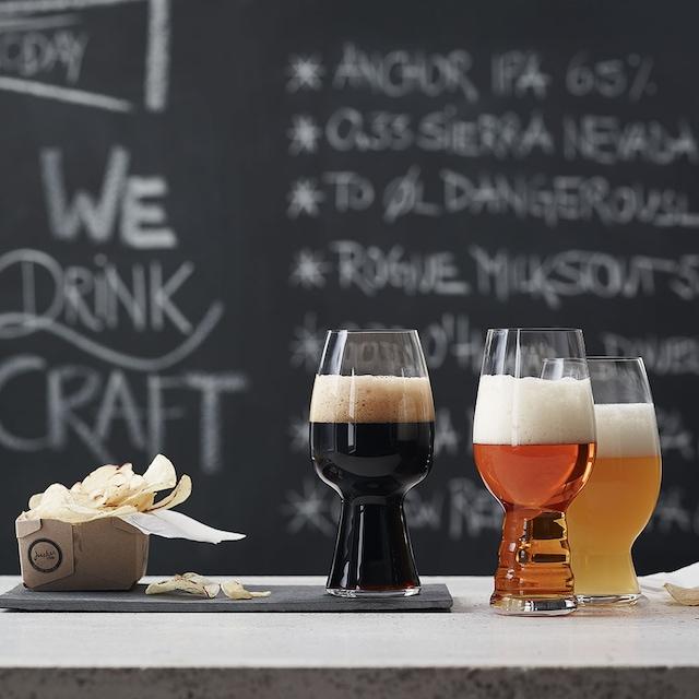Beer Classic Craft Ølsmakingsglass Sett 3-pakk