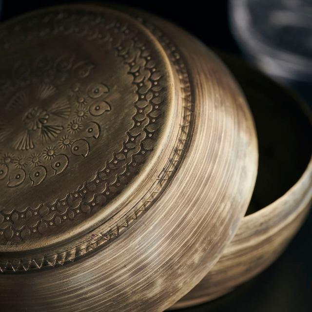 Linna Storage 7x12 cm, Brass