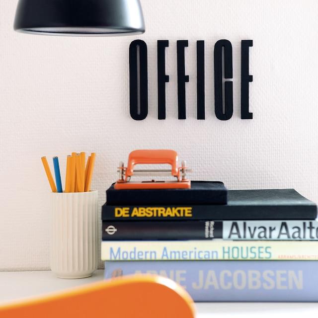 Design Letters Sort Bokstav i Tre, Q