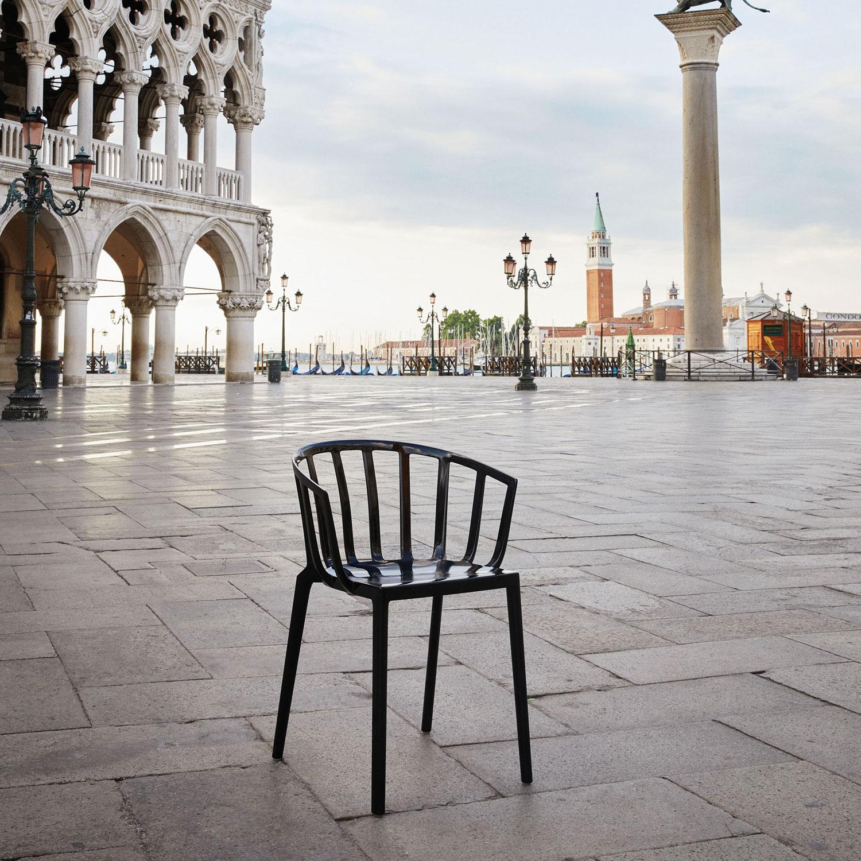 Venice Stol, Hvit Kartell @ RoyalDesign.no