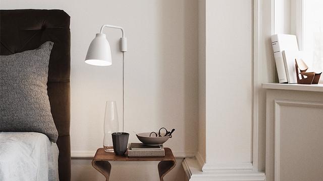 Caravaggio Vegglampe, Sort