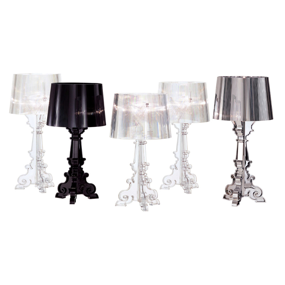bourgie lampe krystall ferruccio laviani kartell. Black Bedroom Furniture Sets. Home Design Ideas