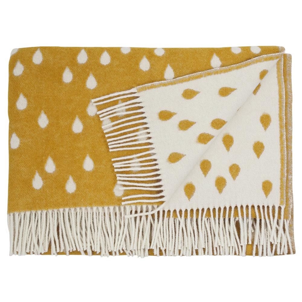 rainy days pledd 130x180 cm honey brita sweden brita sweden. Black Bedroom Furniture Sets. Home Design Ideas