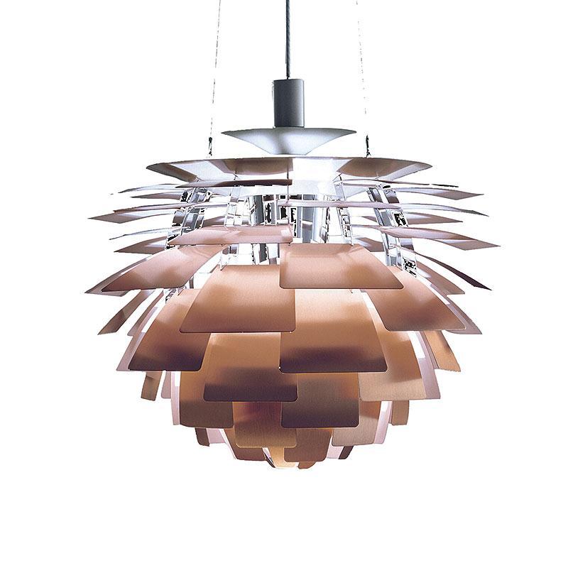 ph kongle pendel 480 200w kobber poul henningsen. Black Bedroom Furniture Sets. Home Design Ideas