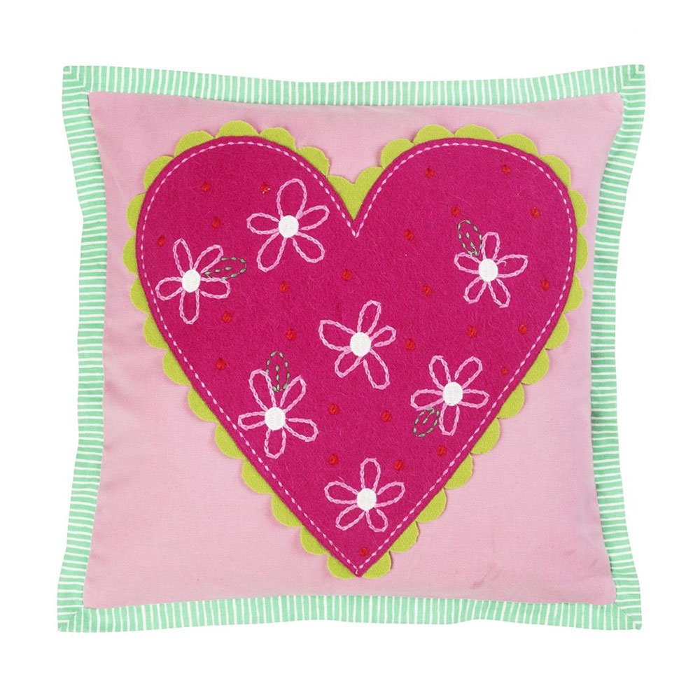 Hearts A Flutter Candytuft Pute 40x40cm