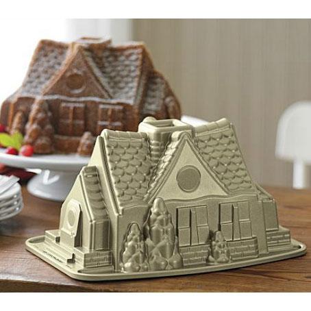 Nordic ware gingerbread house bundt bakeform nordic ware nordic ware - Cake tolix ...