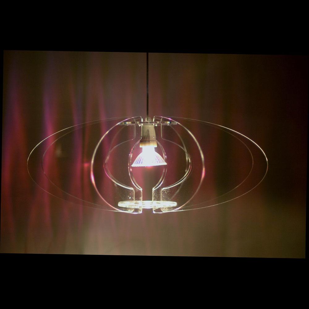 Blossom Lampe 65 Klar