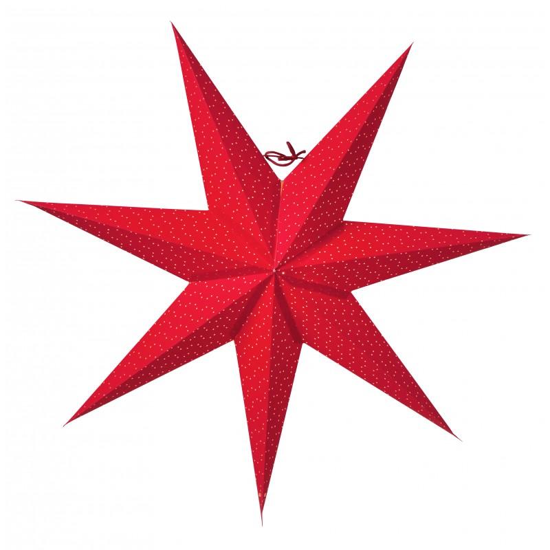 Aino Julestjerne 60cm, Rød