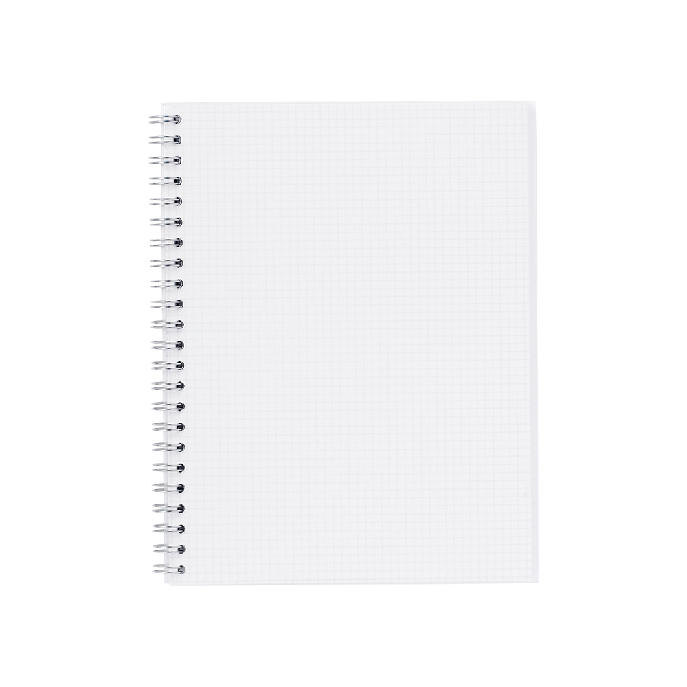 O&R Notisblok A4 Rutete Papir Transparent