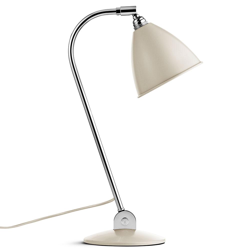 Bestlite BL2 Bordlampe Krom/Off-White