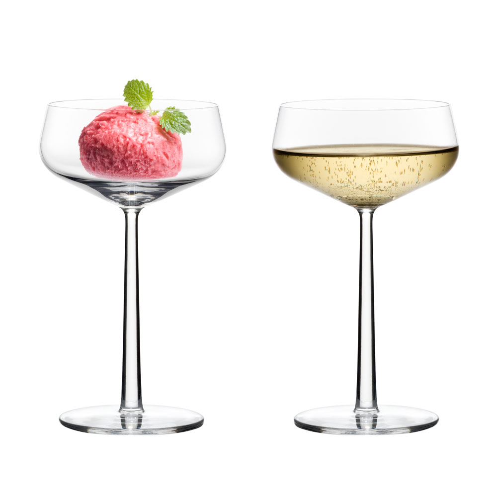 essence dessertsk l champagne glass 31cl 2 pakk alfredo h berli iittala. Black Bedroom Furniture Sets. Home Design Ideas
