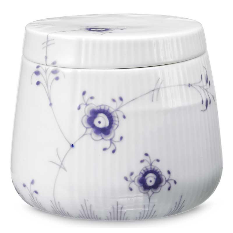 elements sk l med lokk 40cl lavender louise campbell royal copenhagen. Black Bedroom Furniture Sets. Home Design Ideas