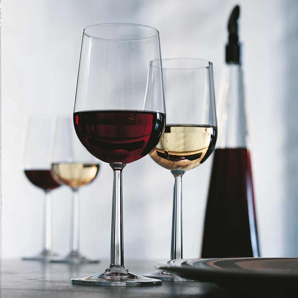 Vinglass rødvin