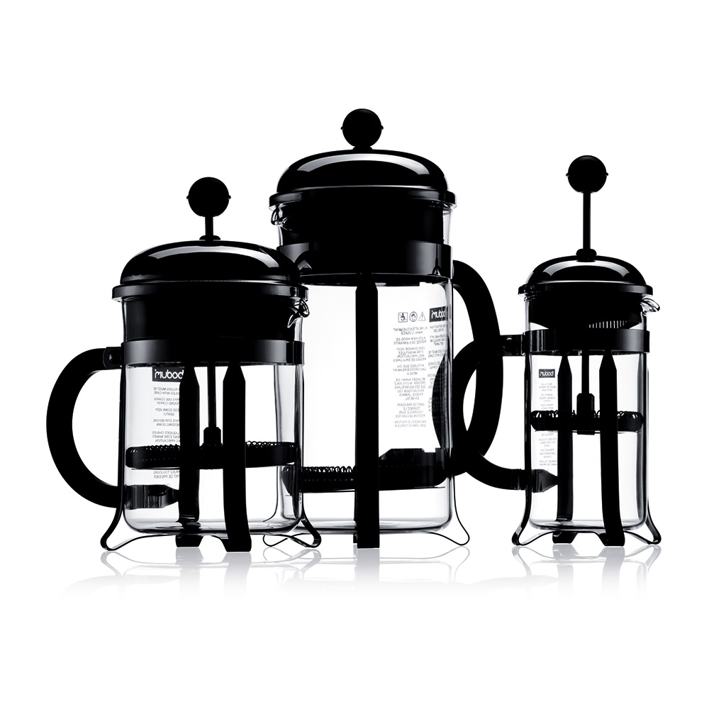 French Press Coffee Maker Cholesterol : CHAMBORD Presskanne 3 Kopper, Krom - Bodum - Bodum - RoyalDesign.no
